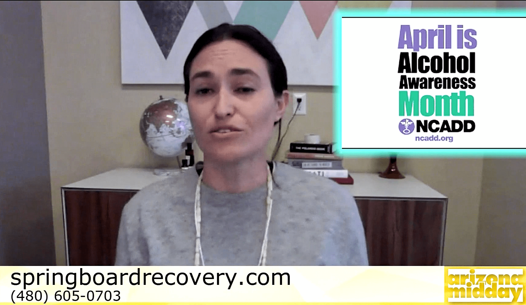 Alexa Alcohol Awareness Month SpringBoard Recovery
