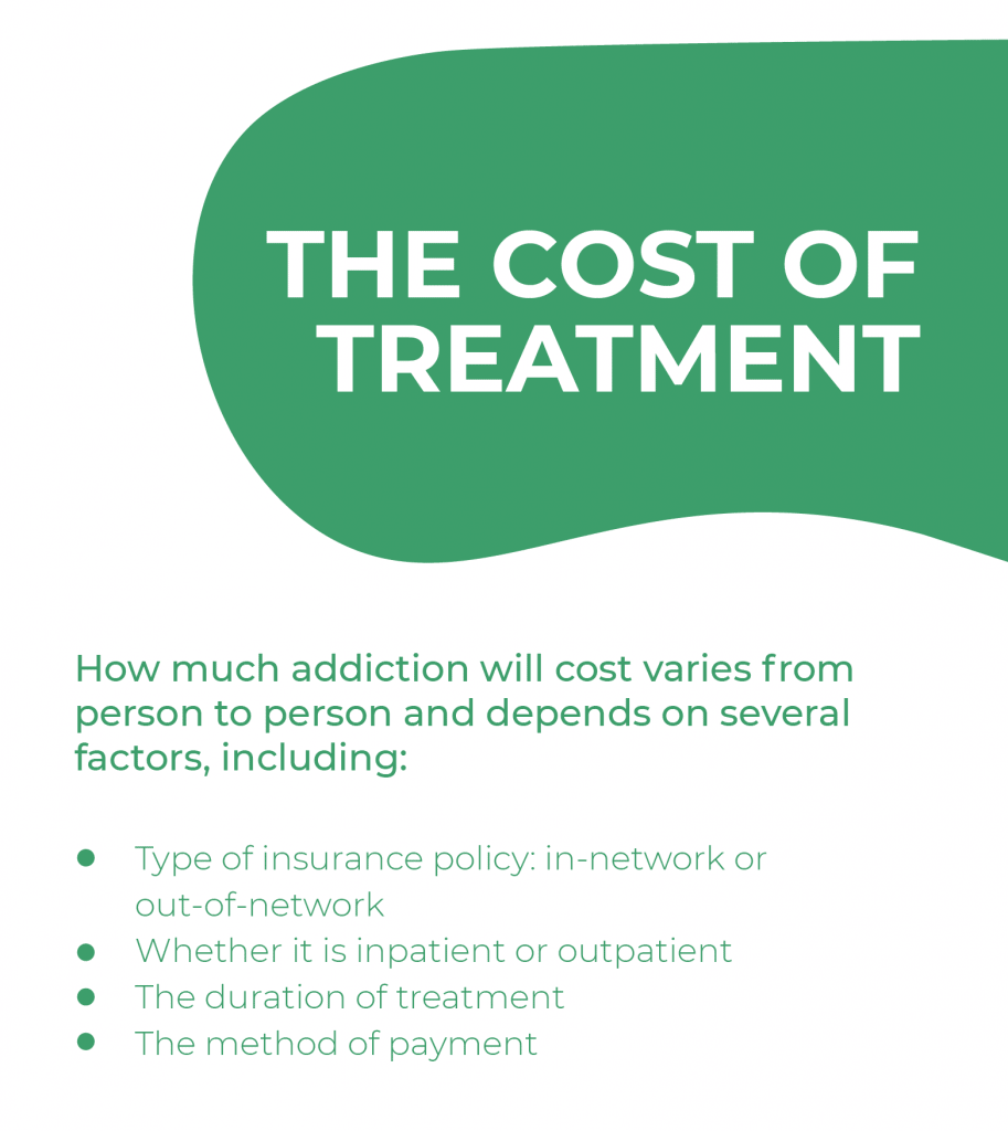 Addiction on Flagstaff, Arizona - The cost of treatment