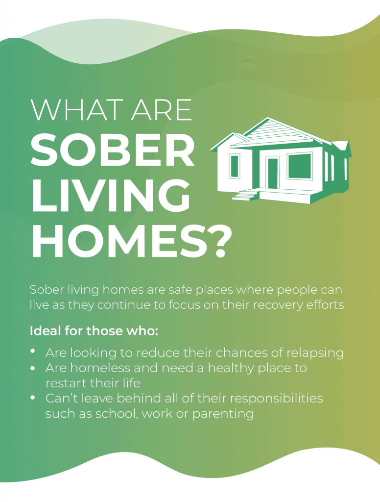 What are sober living homes