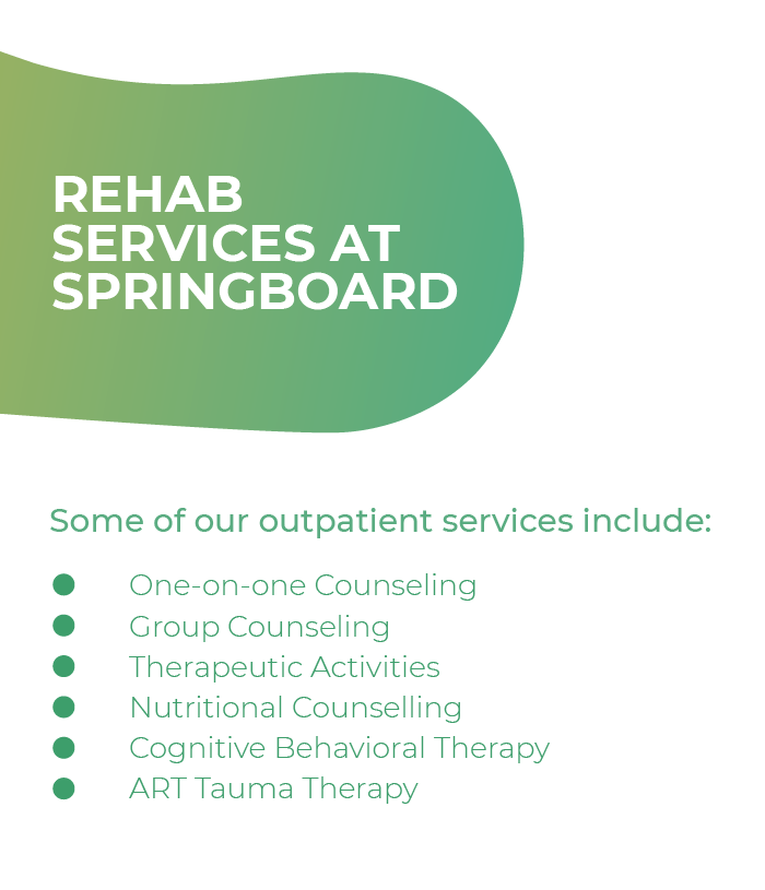 Rehab services at springboard